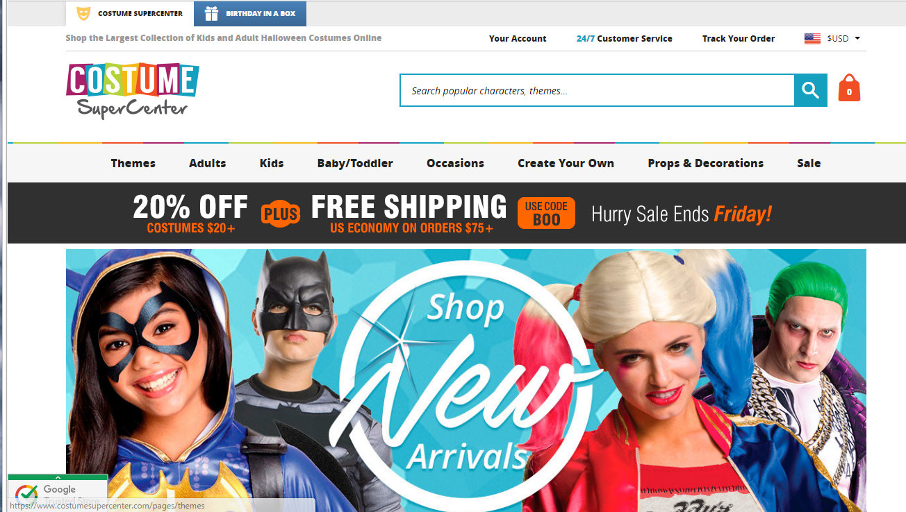 Costume SuperCenter vs. Party City vs. HalloweenCostumes.com vs ...